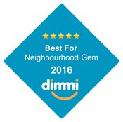 Best For Neighbourhood Gem 2016 Dimmi