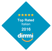 Top Rated Italian 2016 Dimmi