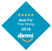 Best For Fine Dining 2016 Dimmi