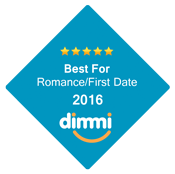 Best For Romance/First Date 2016 Dimmi